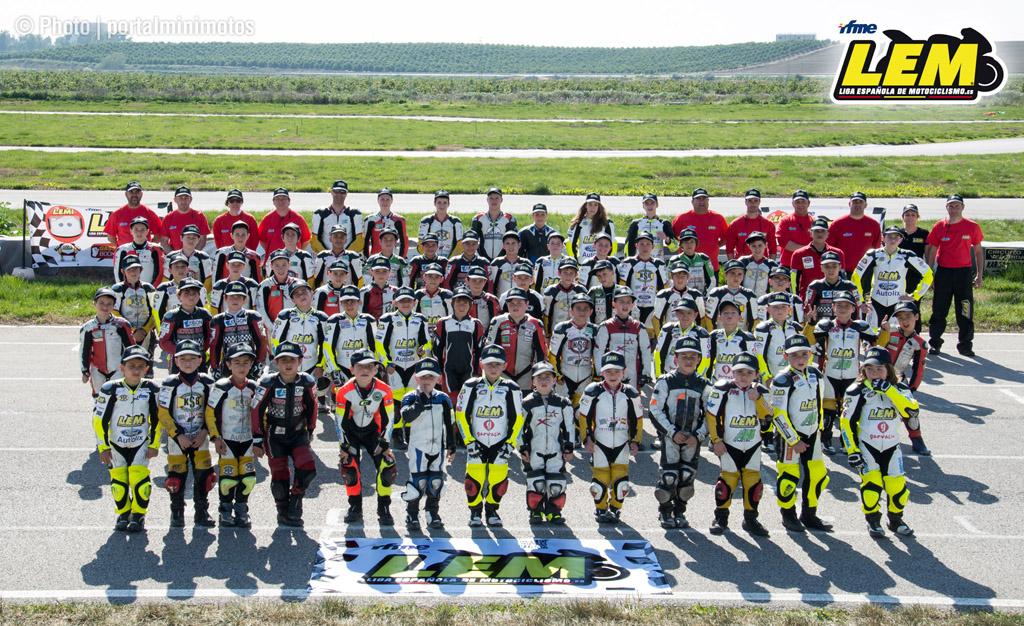 Liga española de motociclismo en Sevilla, esto sólo acaba de empezar