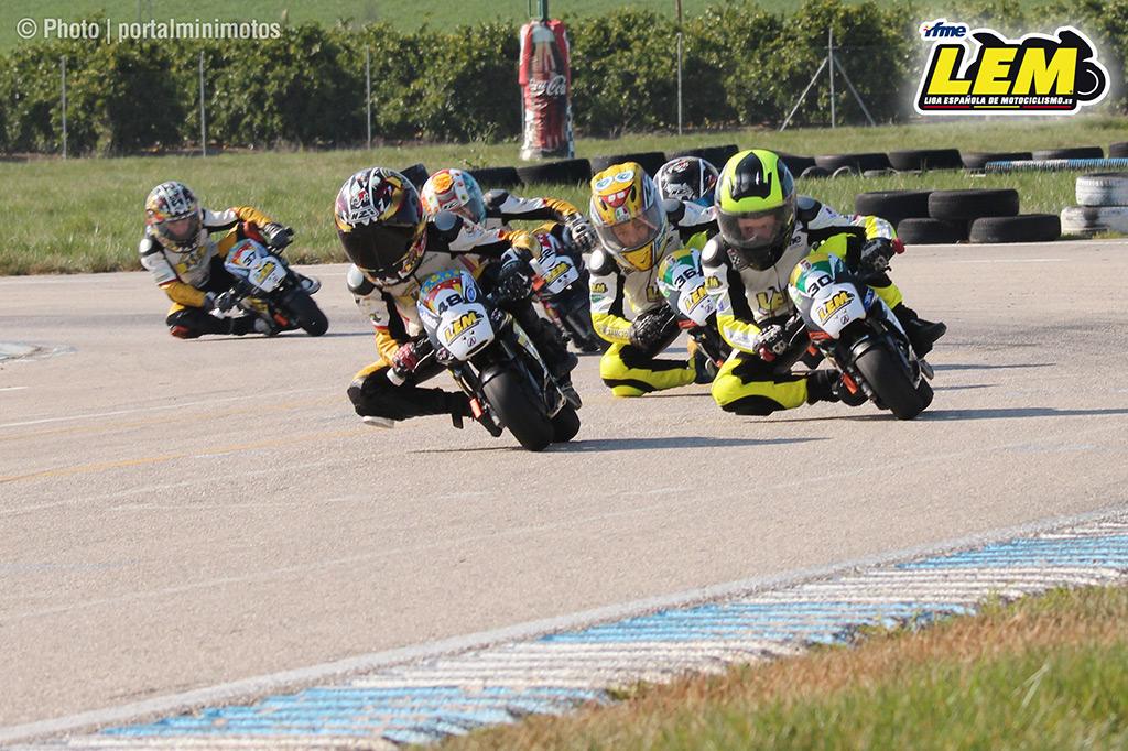 Éxito rotundo en la primera prueba de la Liga Española de Motociclismo