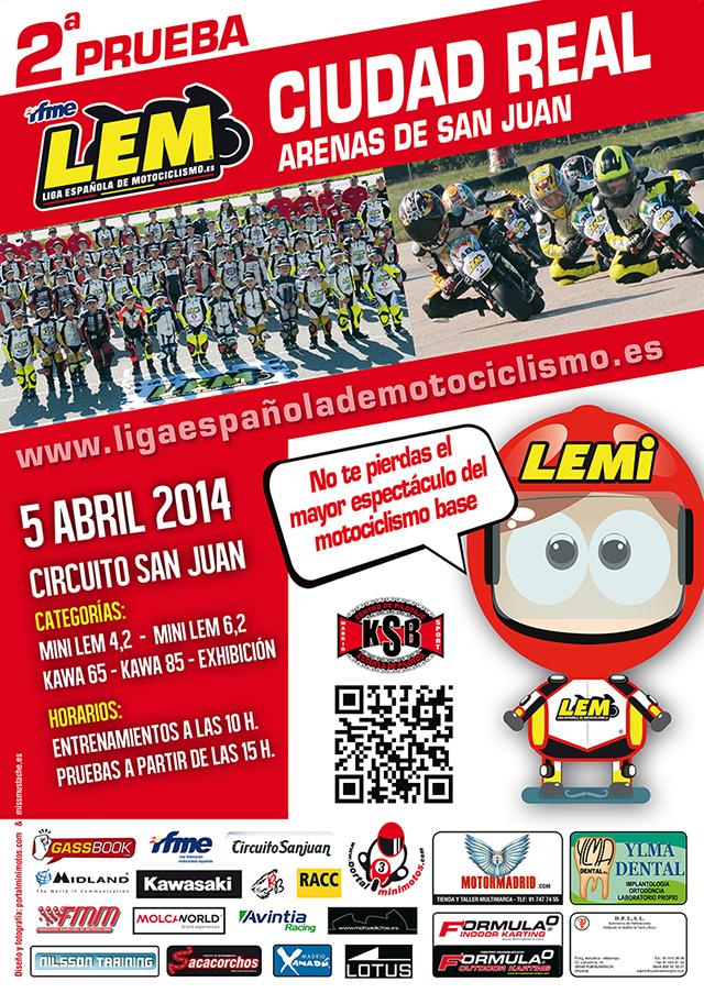 La Liga Española de motociclismo vuelve a pista el día 5 de abril Ciudad Real