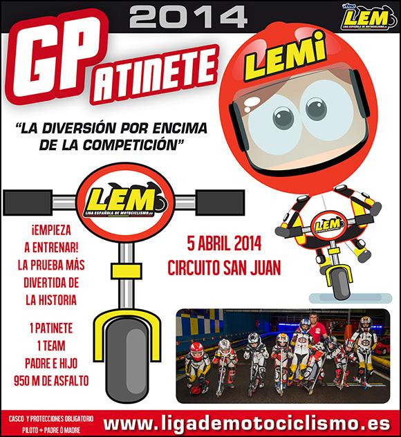 GP Patinete 2014, la prueba más divertida dentro de la LEM