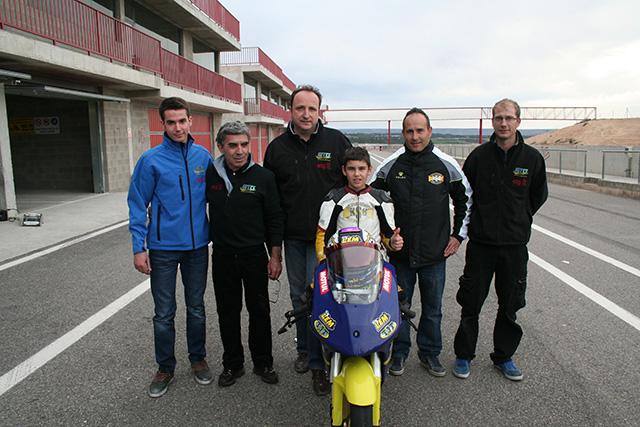 Álvaro Díaz recibe la invitación del Team ETG Racing