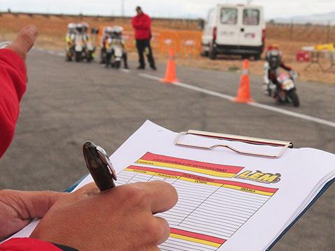 La superpole de la Liga Española de motociclismo, Marco, Yerai e Iker
