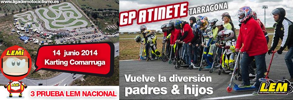 Pre entrenos de la primera GP Patinete 2014