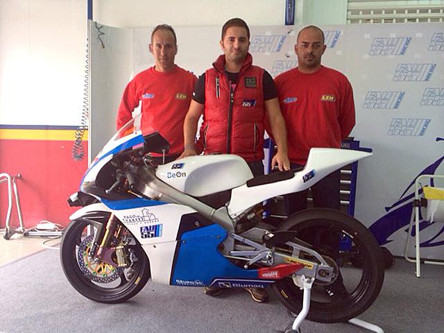 Fusión de la Liga Española de Motociclismo y fau55 Racing
