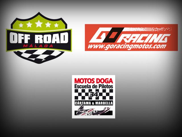 La escuela LEM Málaga (Motos Doga) contará esta temporada con el apoyo de Malaga Offroad y Go Racing