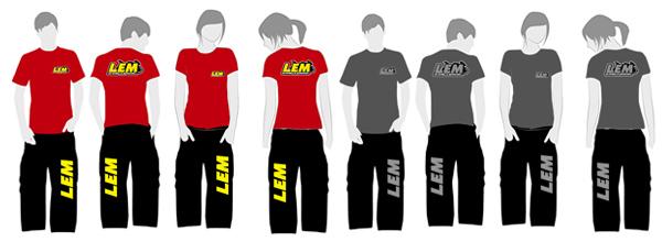 Equipación monitores y staff de LEM