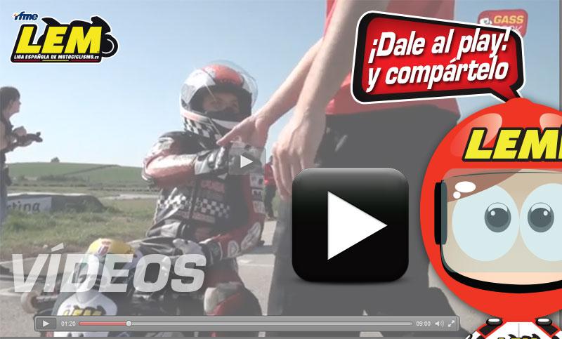 Vídeo: Segunda prueba de la Liga Española de Motociclismo, Ciudad Real