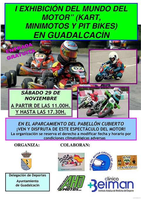 La escuela LEM Jerez, en la I Exhibición del mundo del Motor en Cuadalcacín