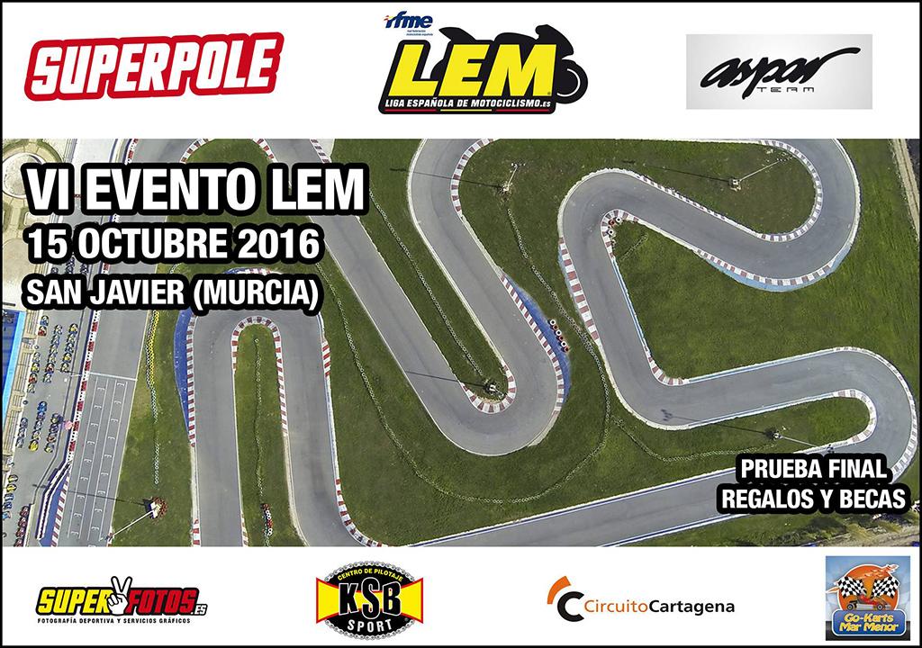 Cierre de temporada LEM 2106 en San Javier